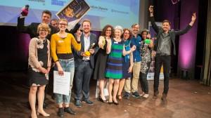 Foresight Filmfestival 2016 Gruppenfoto Gewinner