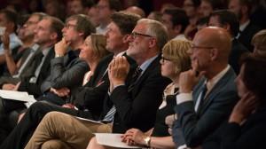 Foresight Filmfestival 2016 Saalimpression mit Rainer Robra, Kulturminister und Chef der Staatskanzlei des Landes Sachsen-Anhalt und Oberbürgermeister Dr. Bernd Wiegand