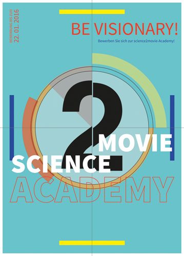 Plakat science2movie-Academy 2016